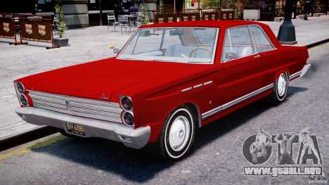 Ford Mercury Comet 1965 para GTA 4 left