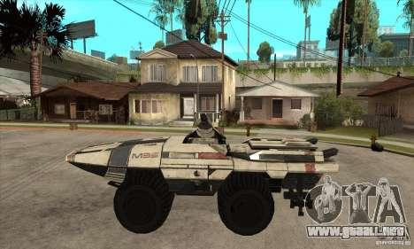 M35 Mako para GTA San Andreas left