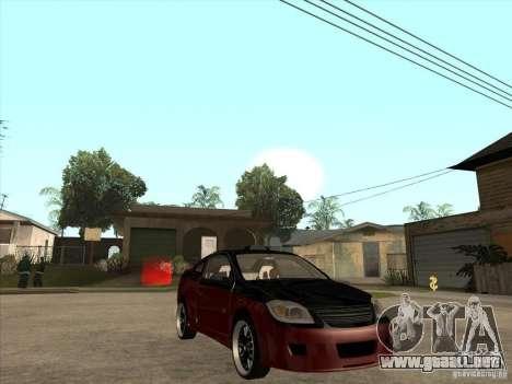 Chevrolet Cobalt ss Tuning para GTA San Andreas vista hacia atrás