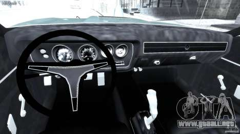 Dodge Charger RT 1971 v1.0 para GTA 4 visión correcta