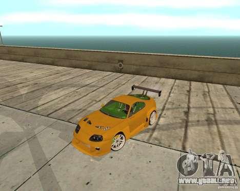 Toyota Supra TwinTurbo para visión interna GTA San Andreas
