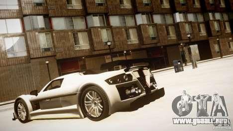 Gumpert Apollo Sport KCS Special Edition v1.1 para GTA 4 visión correcta
