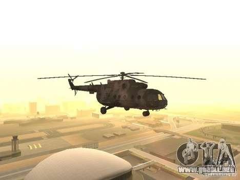 MI 17 para GTA San Andreas