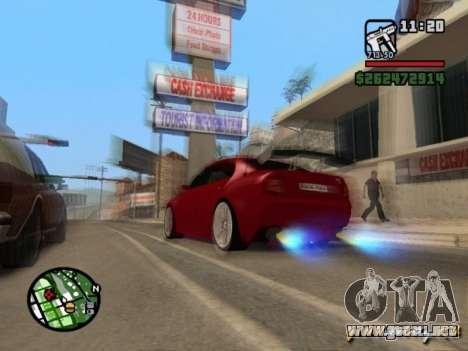 Skoda Superb HARD GT Tuning para GTA San Andreas left