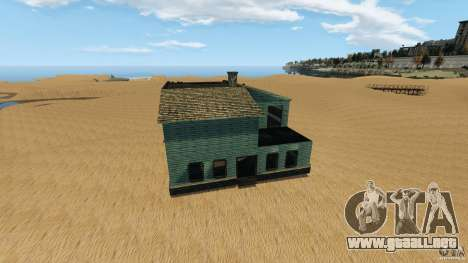 Desierto de Gobi para GTA 4 octavo de pantalla