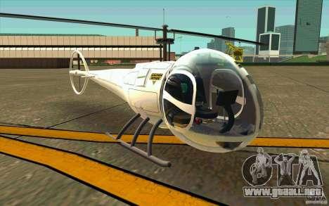 Dragonfly - Land Version para GTA San Andreas left