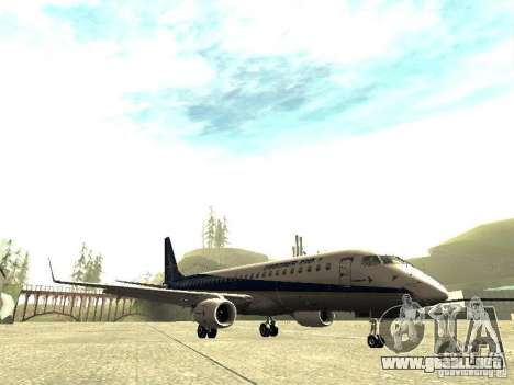 Embraer E-190 para GTA San Andreas left