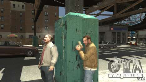 Uzi Skin para GTA 4 tercera pantalla