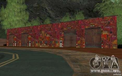 Una aldea nueva Dillimur para GTA San Andreas octavo de pantalla