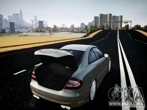 Mercedes-Benz CLK63 AMG Final para GTA 4 vista hacia atrás