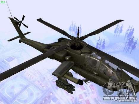 HD Hunter para vista lateral GTA San Andreas