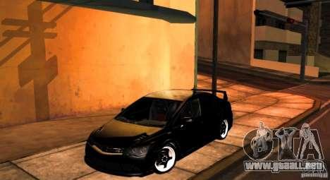 Honda Civic JDM para GTA San Andreas vista hacia atrás