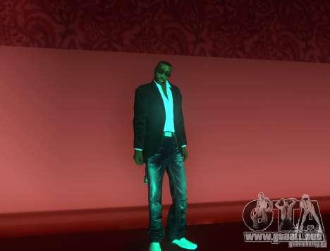 Reportero ckin para GTA San Andreas segunda pantalla