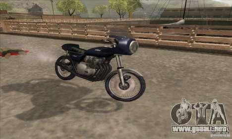 Kawasaki KZ1000 para la visión correcta GTA San Andreas