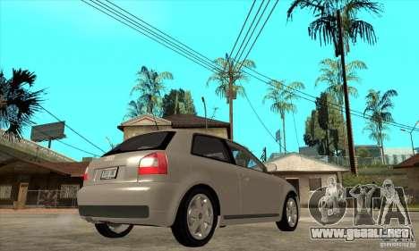 Audi S3 para la visión correcta GTA San Andreas