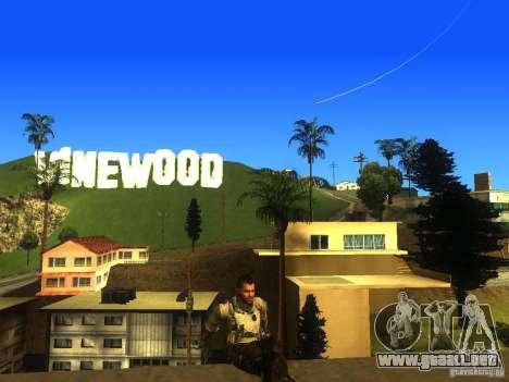 Animation Mod para GTA San Andreas décimo de pantalla