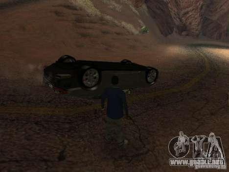No te quemes coches volcados para GTA San Andreas sucesivamente de pantalla