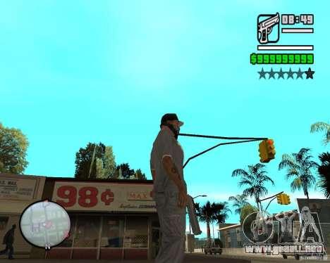 Change Hud Colors para GTA San Andreas octavo de pantalla