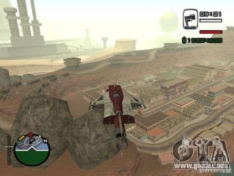Combatiente de la ciudad de Alien para GTA San Andreas left