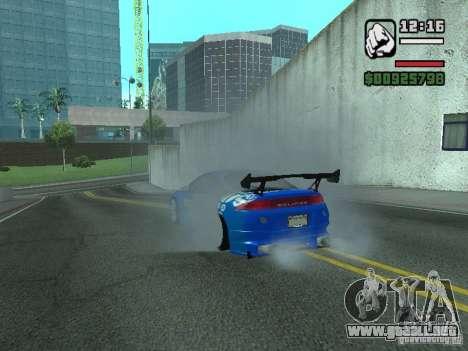 Mitsubishi Eclipse Tunning para la visión correcta GTA San Andreas