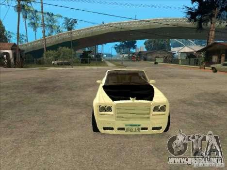 GTA 4 TBOGT Super Drop Diamond para GTA San Andreas vista hacia atrás