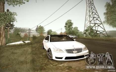 Beautiful ENBSeries para GTA San Andreas sucesivamente de pantalla