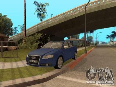 Audi S4 para la vista superior GTA San Andreas