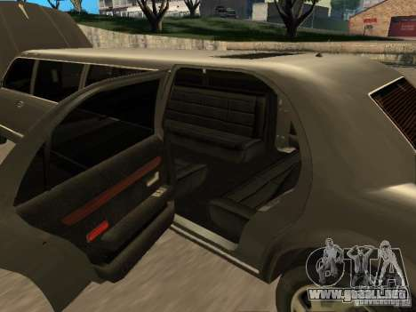 HD Stretch para visión interna GTA San Andreas