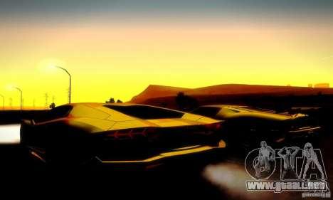Drag Track Final para GTA San Andreas novena de pantalla