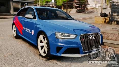 Audi RS4 Avant 2013 para GTA 4