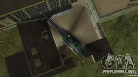 FBI Maverick para GTA Vice City vista lateral izquierdo