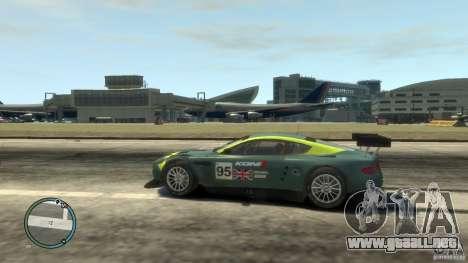 Aston Martin DBR9 para GTA 4 left