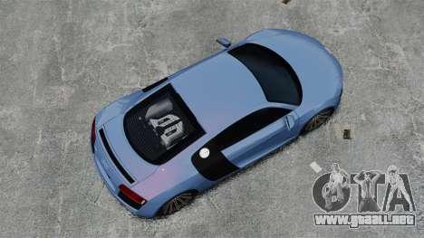 Audi R8 para GTA 4 visión correcta