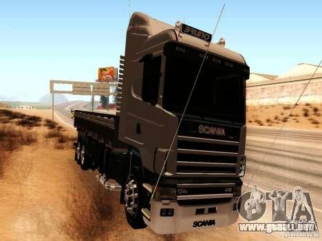 Scania 124G R400 para GTA San Andreas left