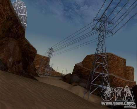 HQ Country N2 Desert para GTA San Andreas quinta pantalla