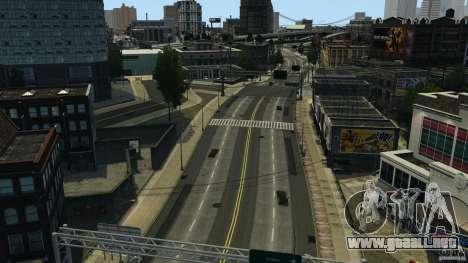 Ciudad vacía para GTA 4 segundos de pantalla