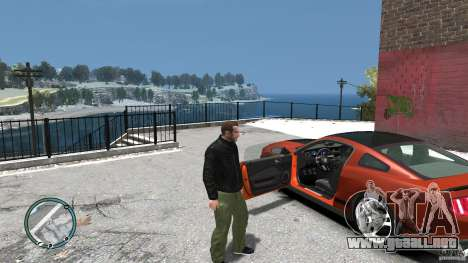 Ford Mustang Boss 302 2012 para GTA 4 vista interior