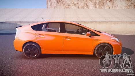 Toyota Prius 2011 para GTA 4 vista superior