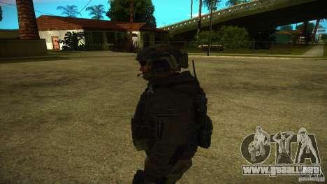 Sandman para GTA San Andreas sucesivamente de pantalla