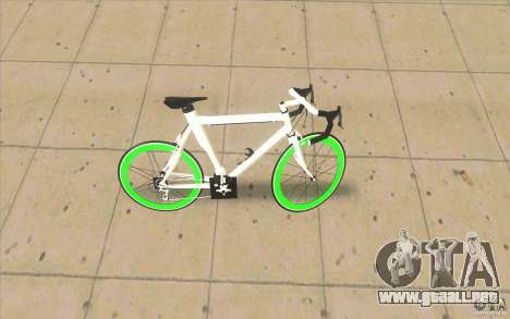 Fixie Bike para GTA San Andreas left
