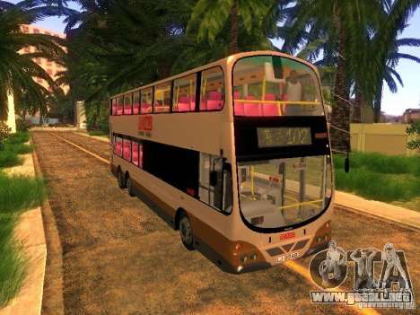 Volvo B10TL from Hong Kong para GTA San Andreas
