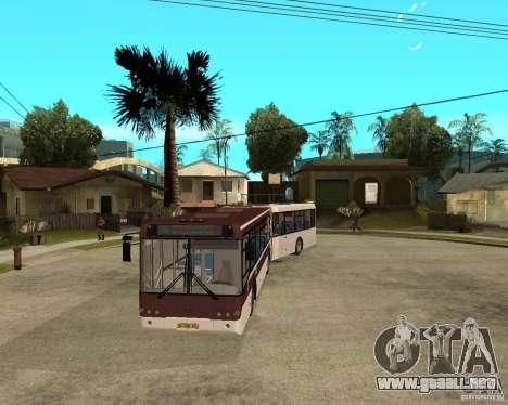 LIAZ 6213.20 para GTA San Andreas vista hacia atrás