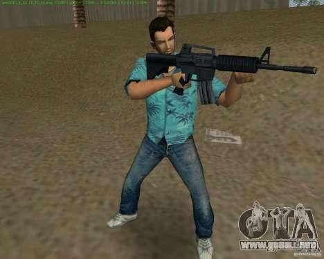 M4 de Counter Strike Source para GTA Vice City sexta pantalla