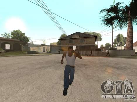 Awesome .IFP V3 para GTA San Andreas sucesivamente de pantalla