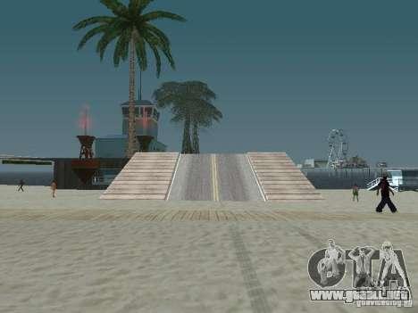El misterio de las islas tropicales para GTA San Andreas segunda pantalla
