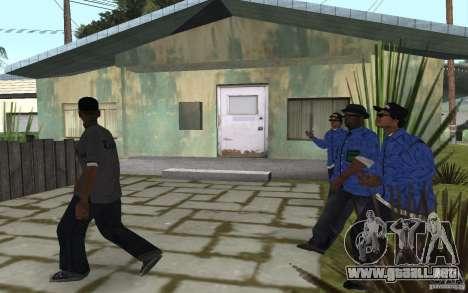 Crips 4 Life para GTA San Andreas sexta pantalla
