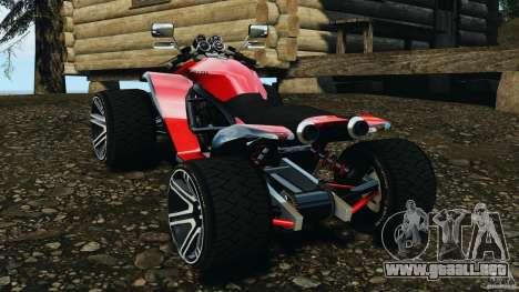 ATV PCJ Sport para GTA 4 Vista posterior izquierda