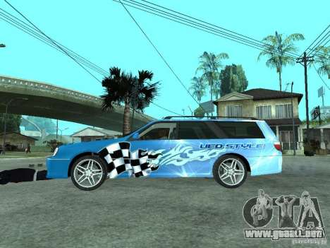 Nissan Stagea 25RS four S para GTA San Andreas left