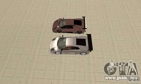 Lamborghini Murcielago R GT para las ruedas de GTA San Andreas