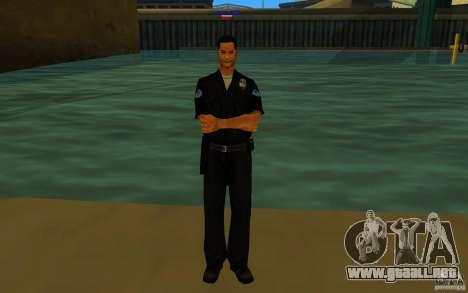 HQ skin lapd1 para GTA San Andreas tercera pantalla